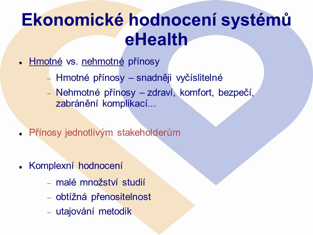 Ekonomické hodnocení systémů eHealth