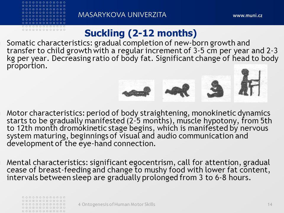 Suckling (2-12 months)