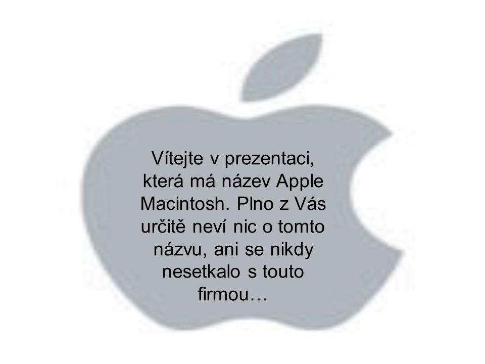 Vítejte v prezentaci, která má název Apple Macintosh