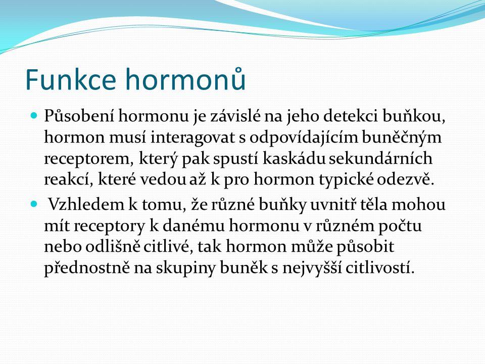 Funkce hormonů