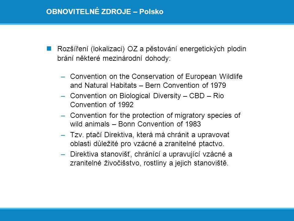 OBNOVITELNÉ ZDROJE – Polsko