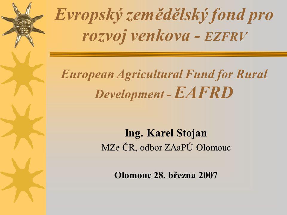 MZe ČR, odbor ZAaPÚ Olomouc