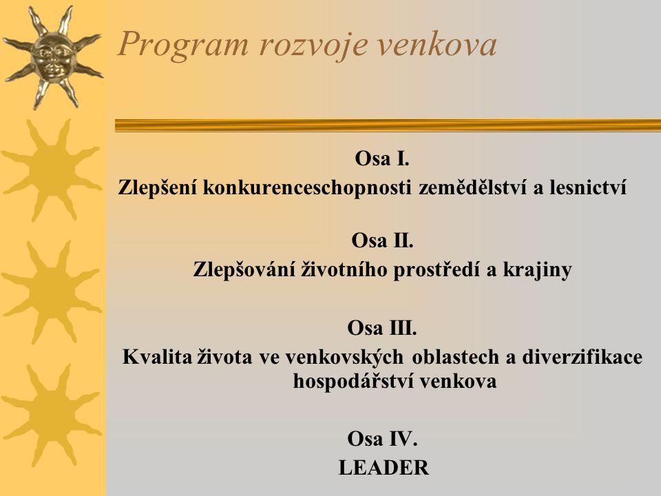 Program rozvoje venkova