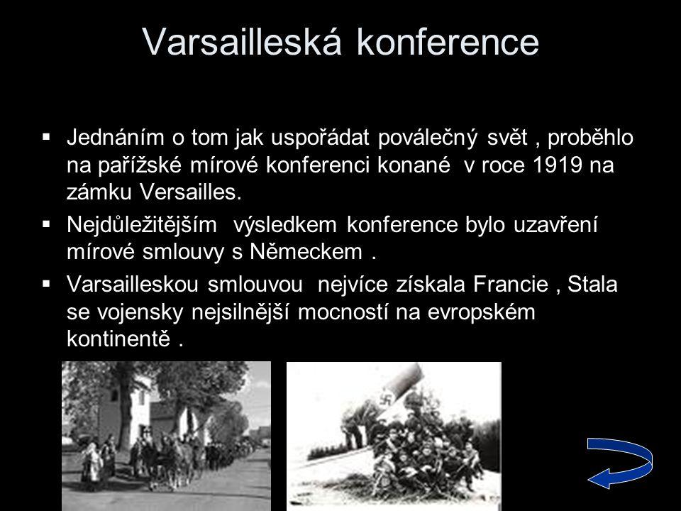 Varsailleská konference