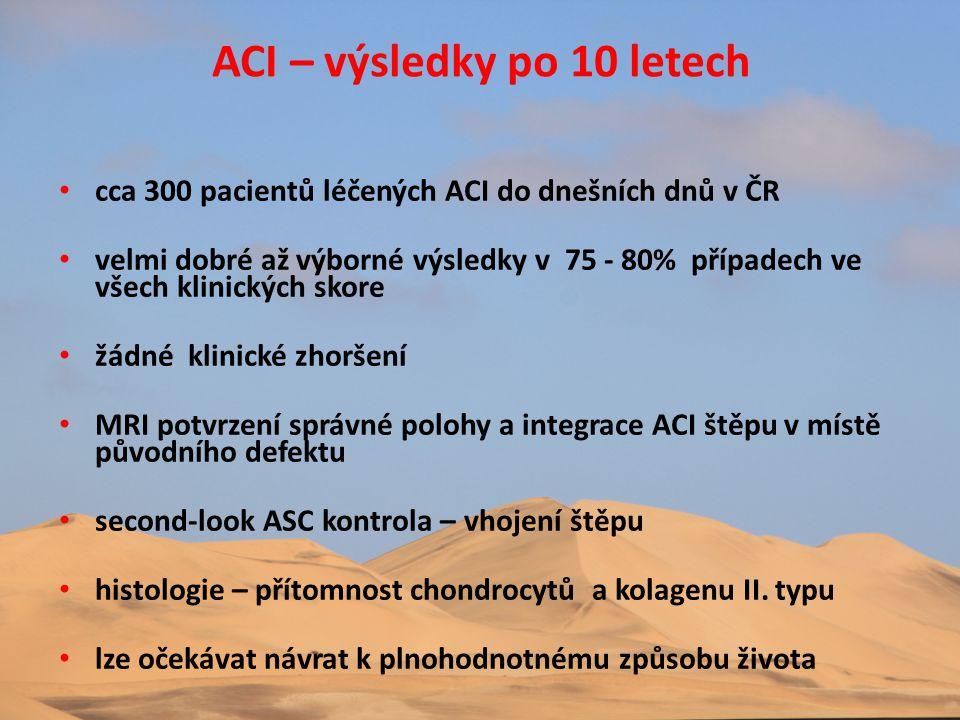 ACI – výsledky po 10 letech
