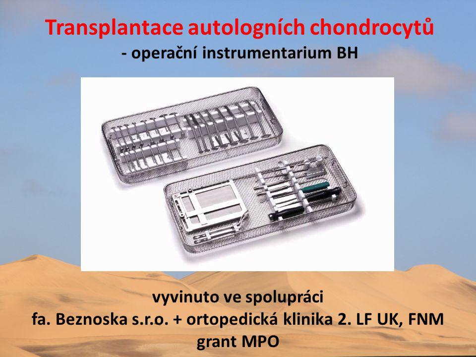 Transplantace autologních chondrocytů