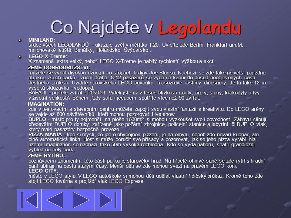 Co Najdete v Legolandu