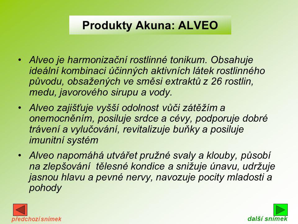 Produkty Akuna: ALVEO