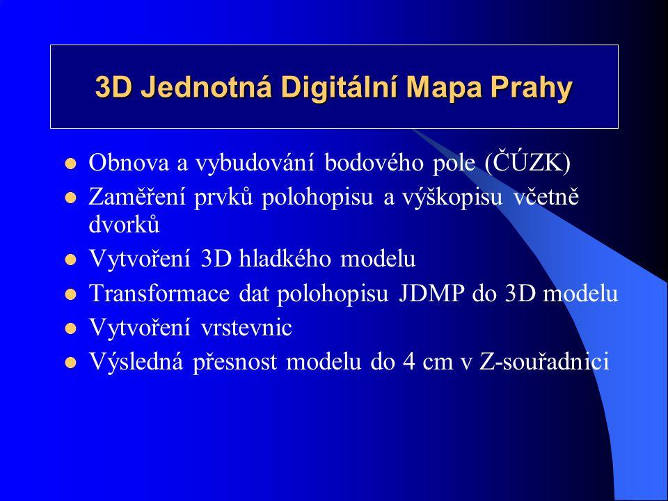 3D Jednotná Digitální Mapa Prahy