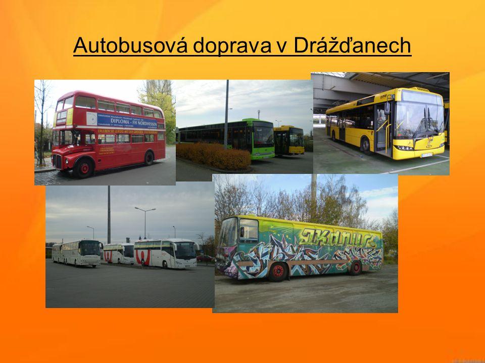 Autobusová doprava v Drážďanech