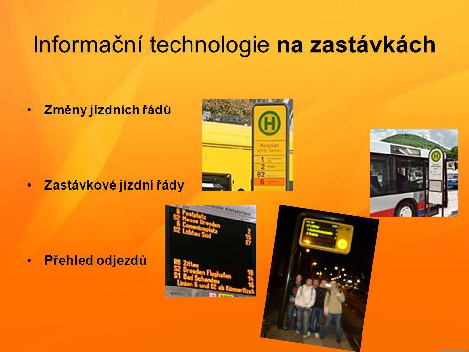 Informační technologie na zastávkách
