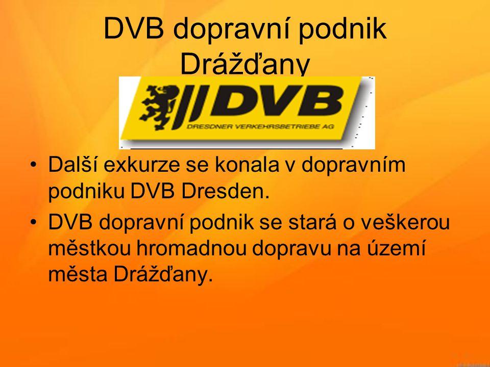 DVB dopravní podnik Drážďany