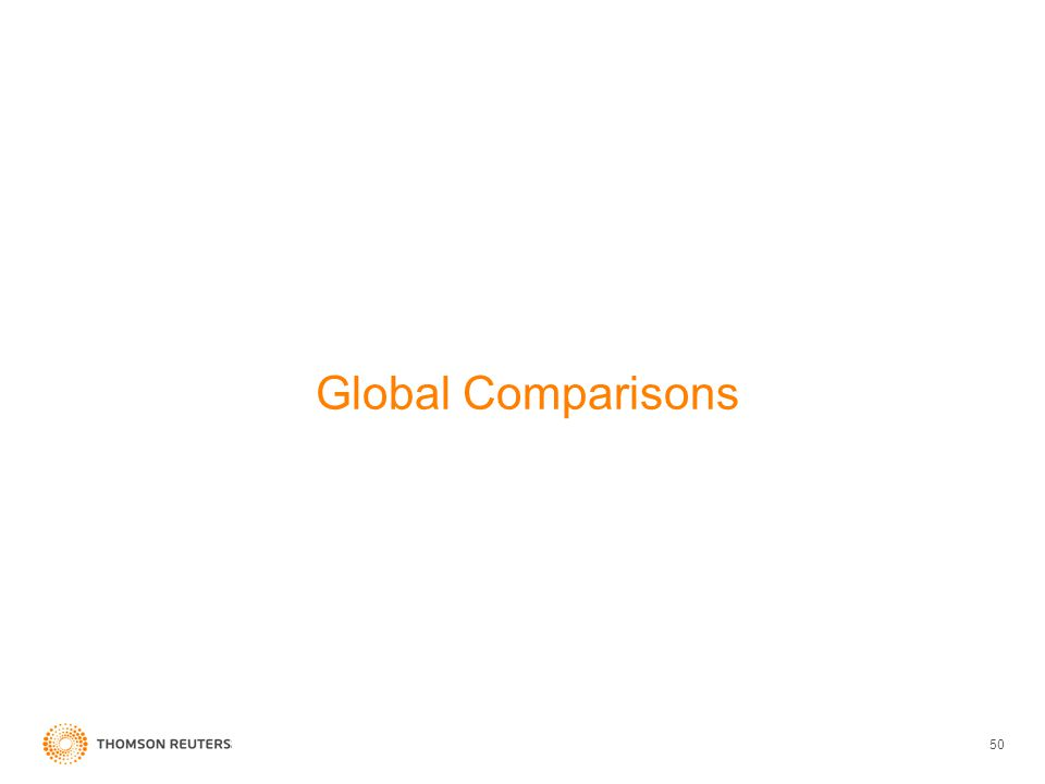 Global Comparisons