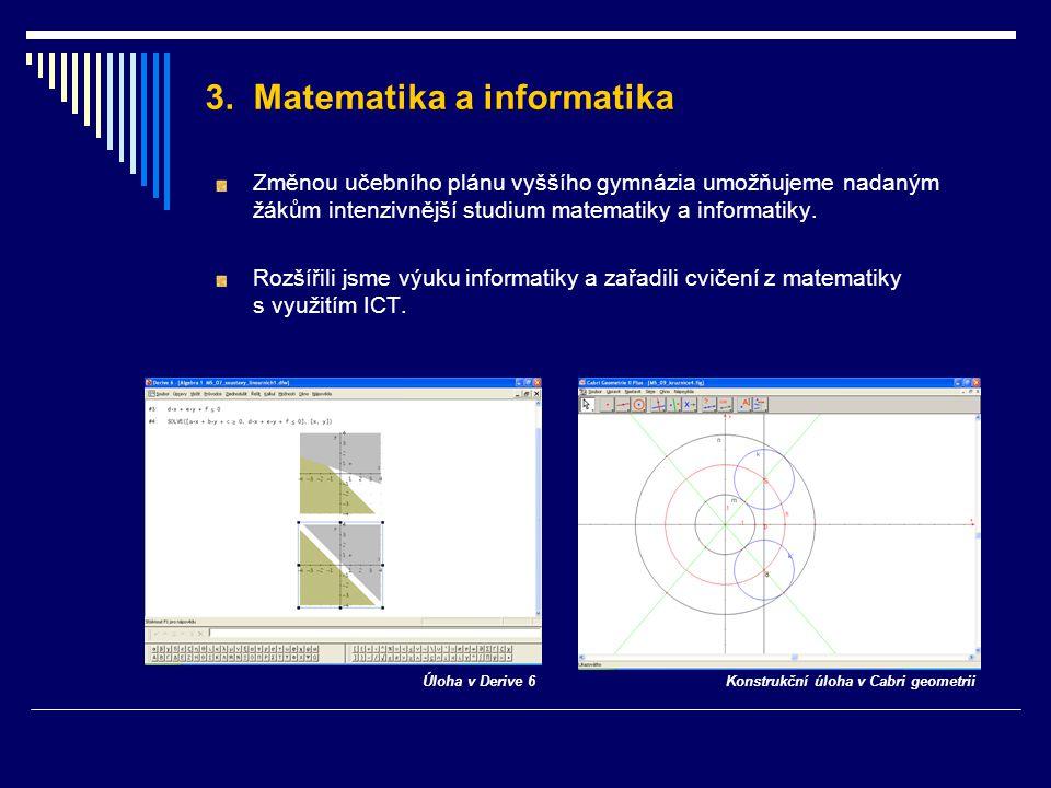 3. Matematika a informatika
