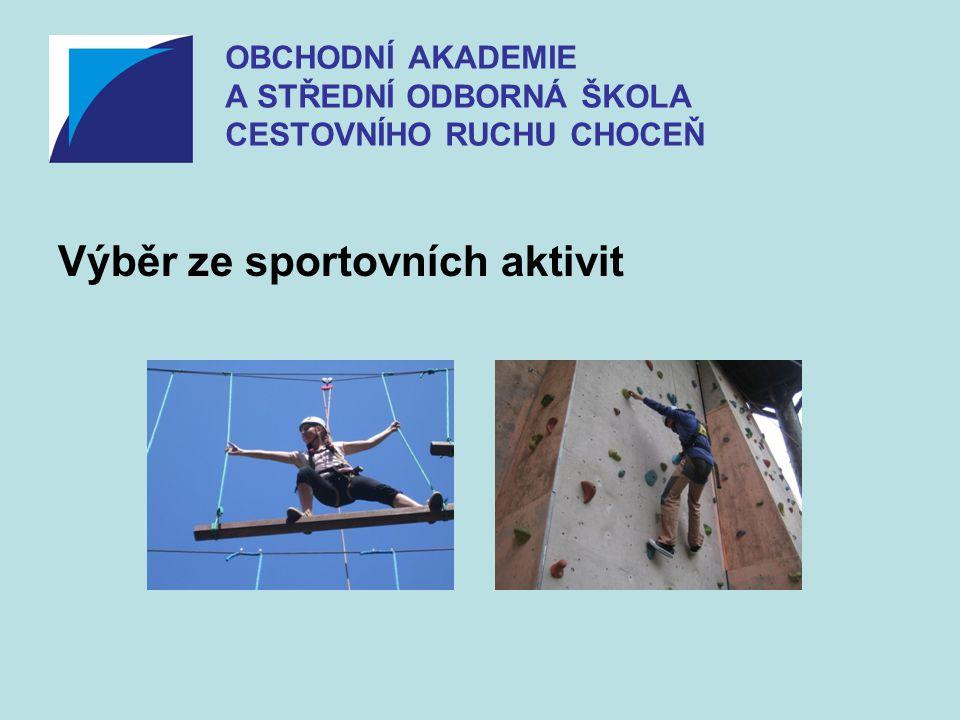 Výběr ze sportovních aktivit