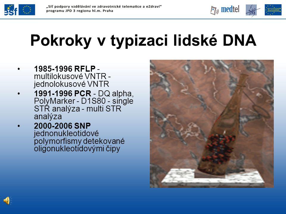 Pokroky v typizaci lidské DNA