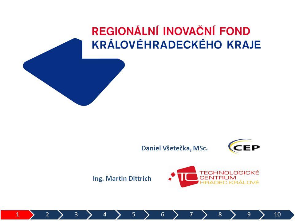 Daniel Všetečka, MSc. Ing. Martin Dittrich 1 2 3 4 5 6 7 8 9 10