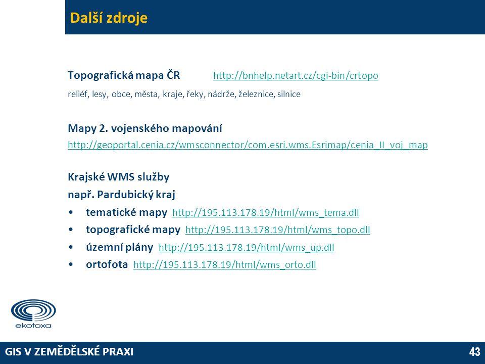 Další zdroje 03 April 2017. Topografická mapa ČR http://bnhelp.netart.cz/cgi-bin/crtopo.