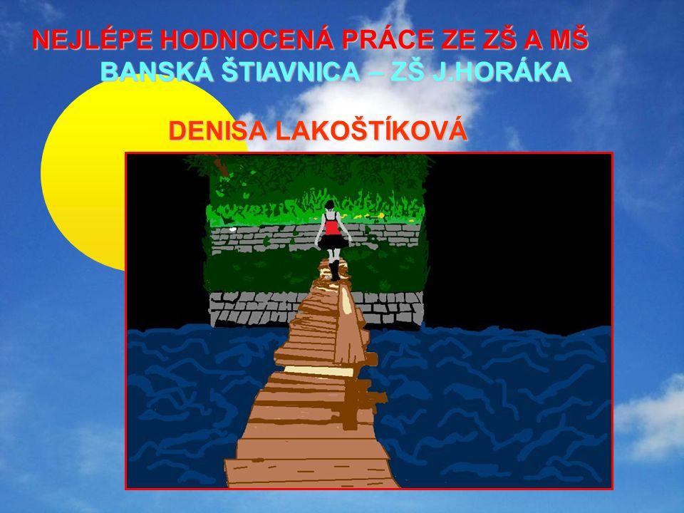 NEJLÉPE HODNOCENÁ PRÁCE ZE ZŠ A MŠ BANSKÁ ŠTIAVNICA – ZŠ J.HORÁKA