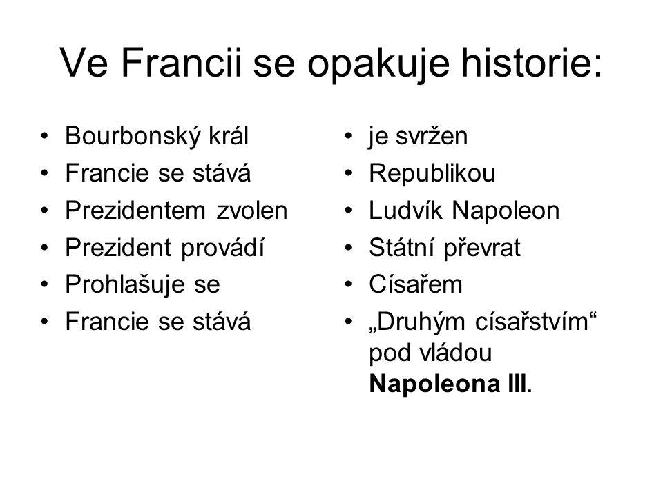 Ve Francii se opakuje historie: