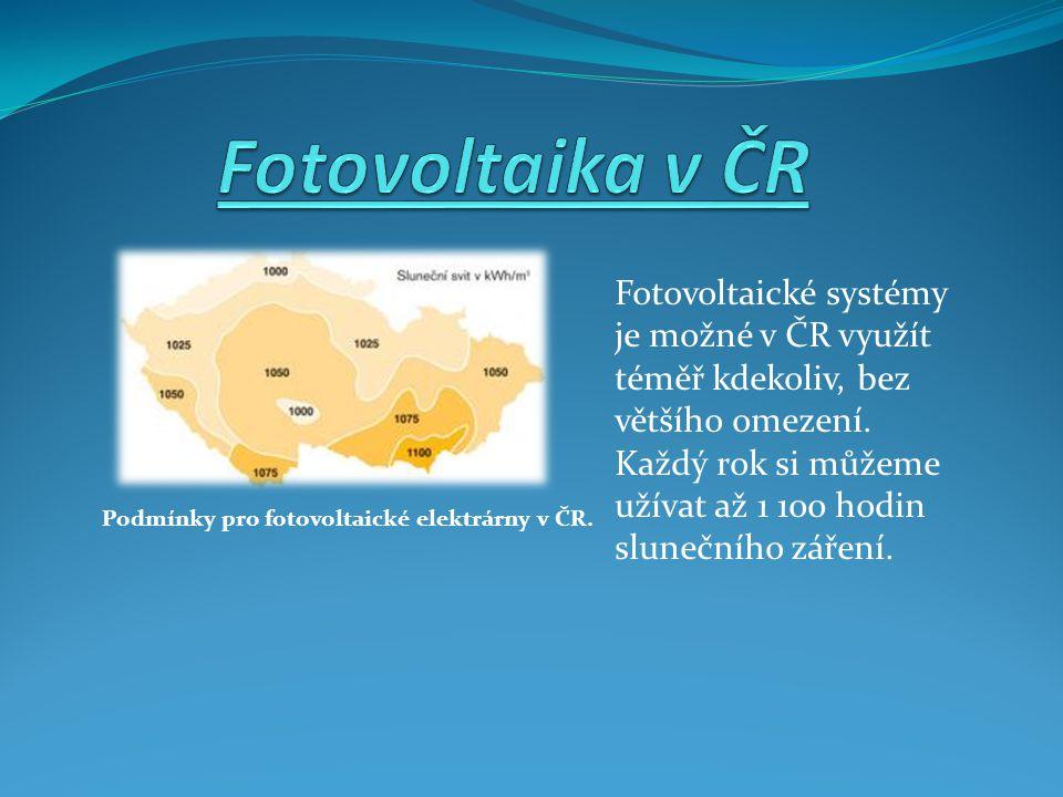 Fotovoltaika v ČR