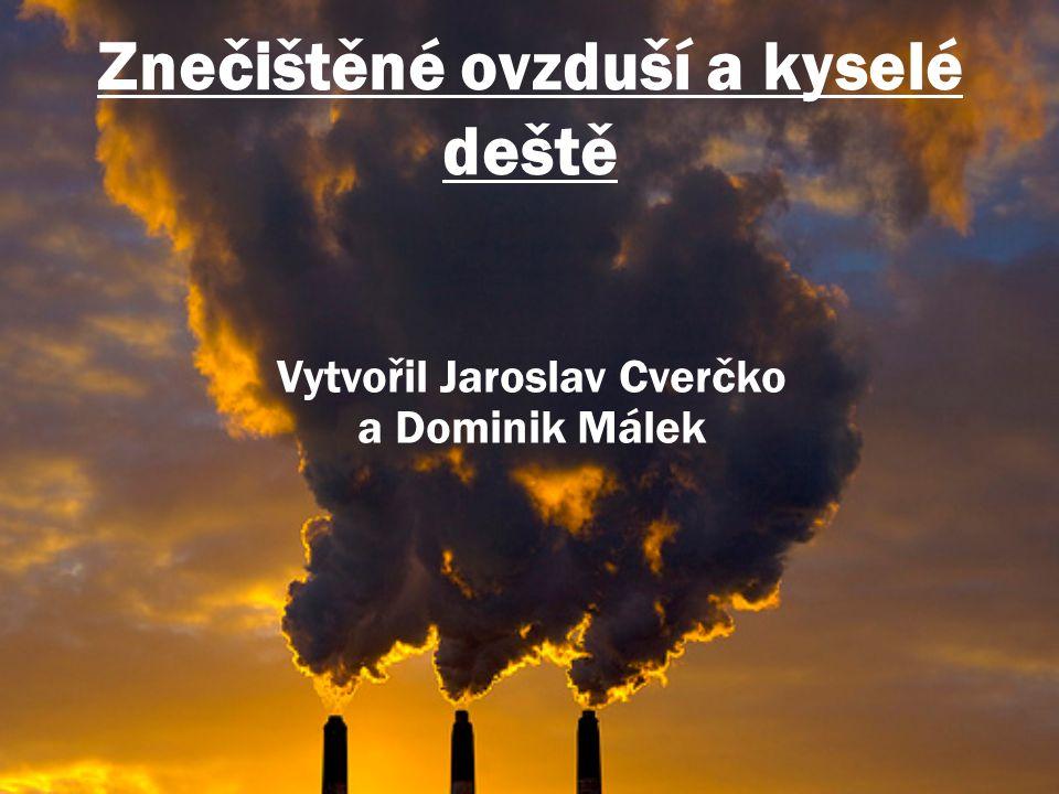 Znečištěné ovzduší a kyselé deště
