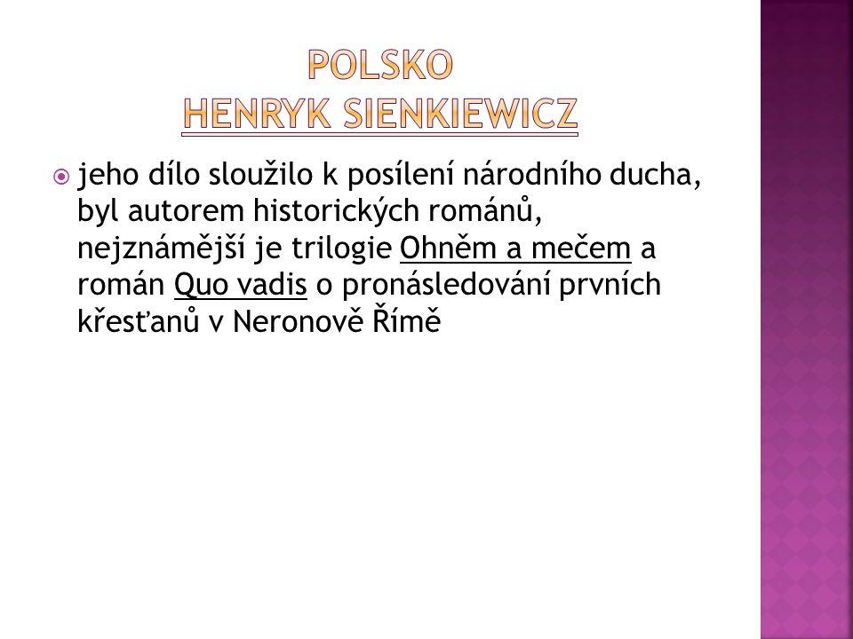 POLSKO Henryk Sienkiewicz