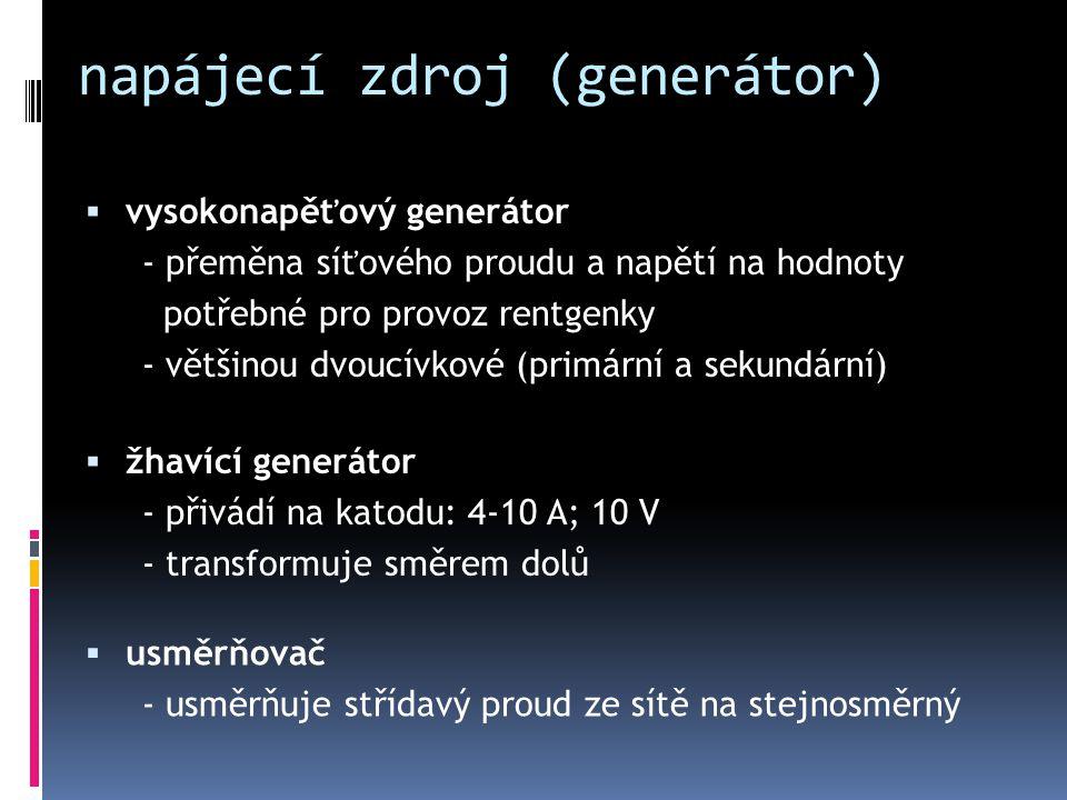 napájecí zdroj (generátor)