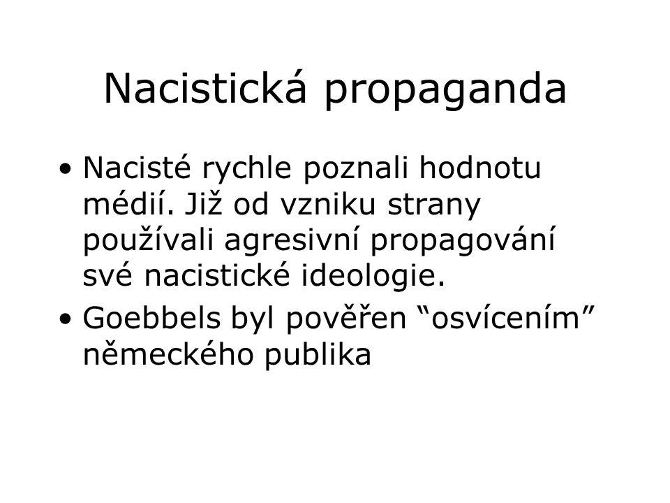 Nacistická propaganda