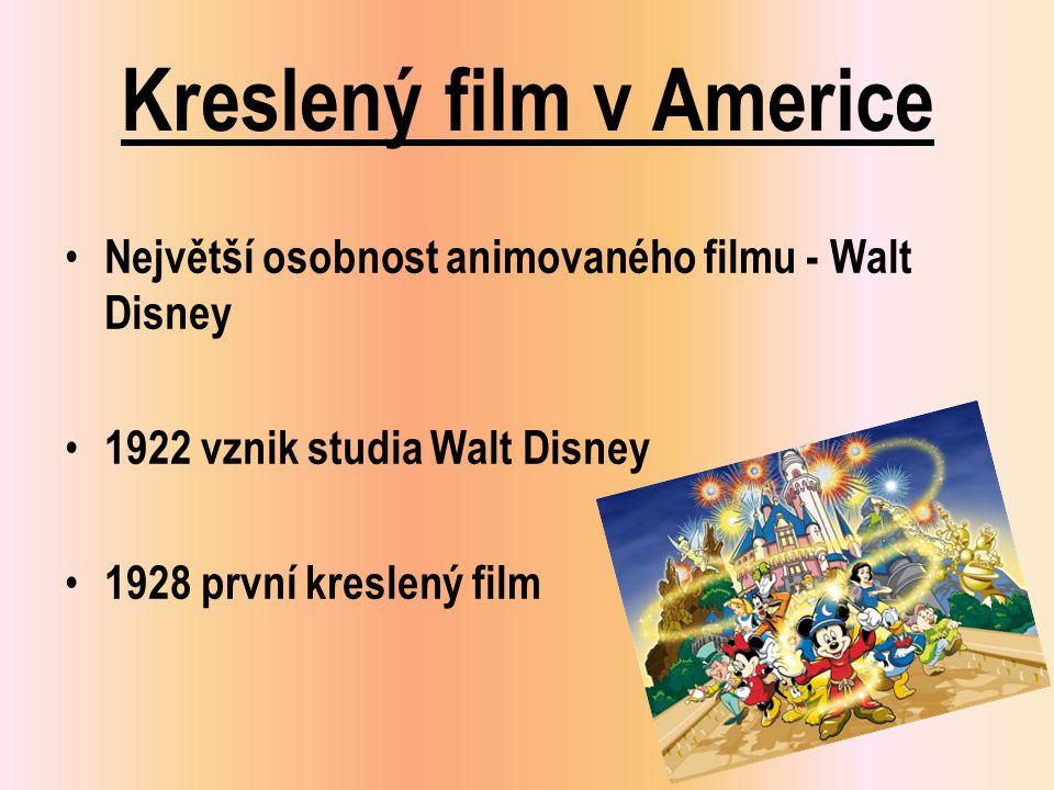 Kreslený film v Americe