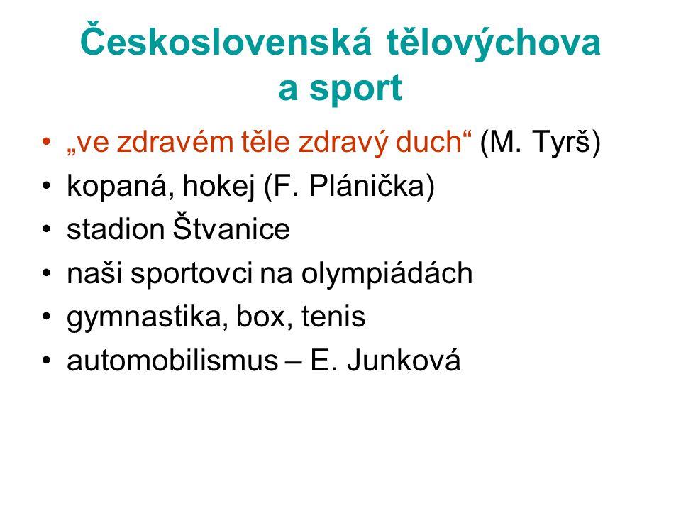 Československá tělovýchova a sport