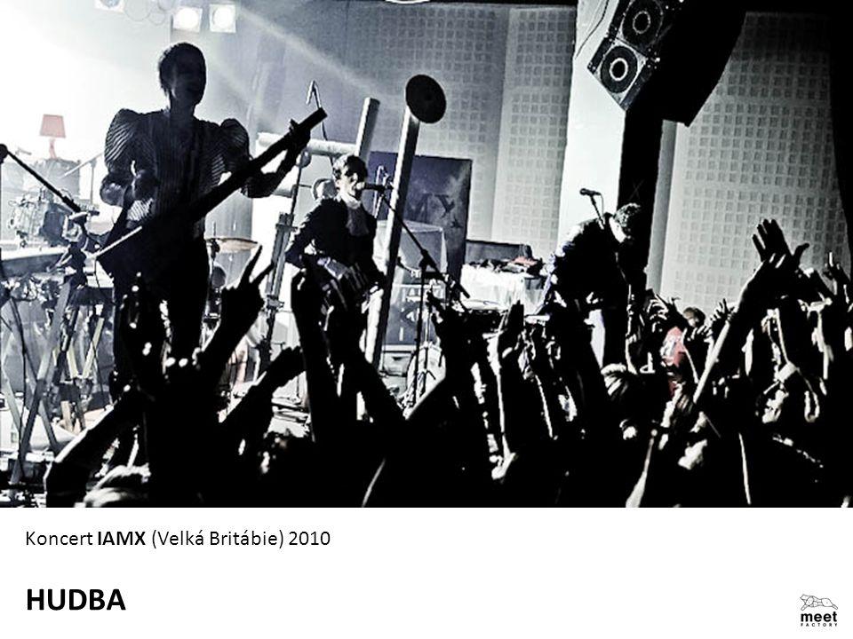 Koncert IAMX (Velká Britábie) 2010