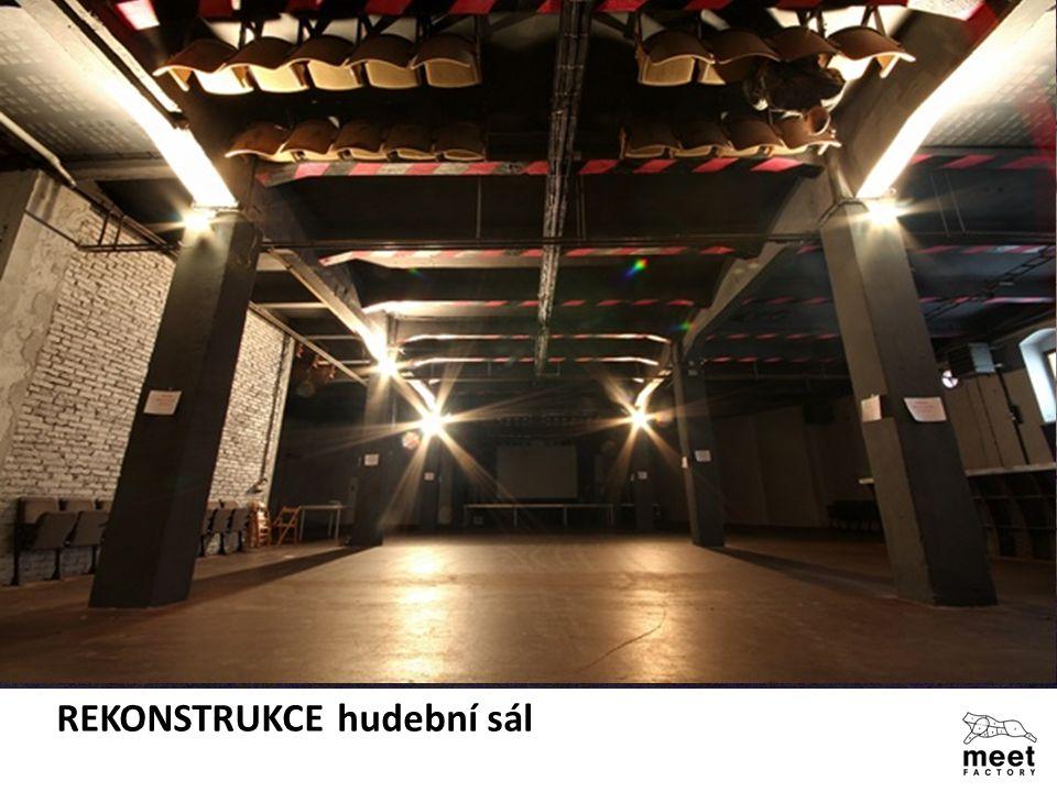 REKONSTRUKCE hudební sál
