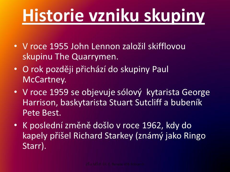 Historie vzniku skupiny