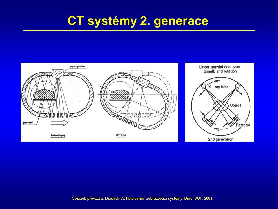 CT systémy 2. generace Obrázek převzat z: Drastich, A.