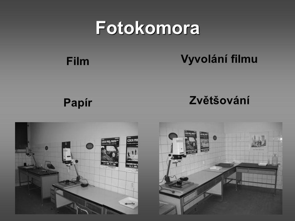 Fotokomora Vyvolání filmu Zvětšování Film Papír