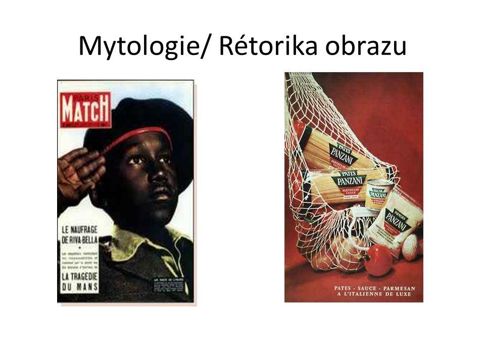 Mytologie/ Rétorika obrazu