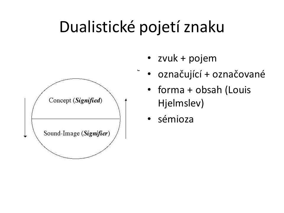 Dualistické pojetí znaku