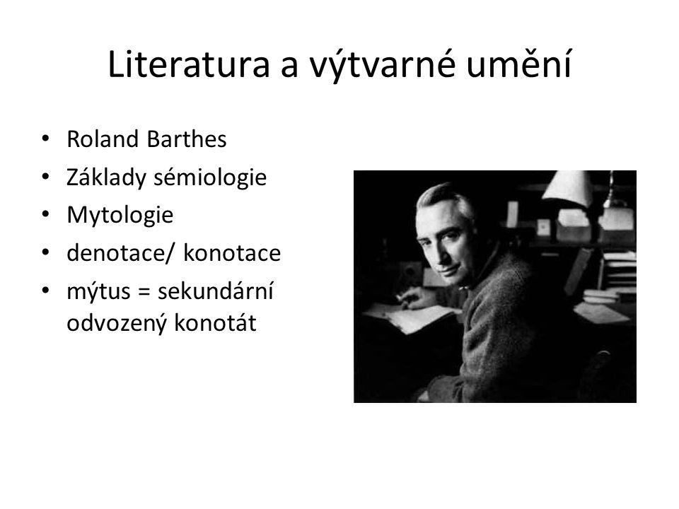 Literatura a výtvarné umění