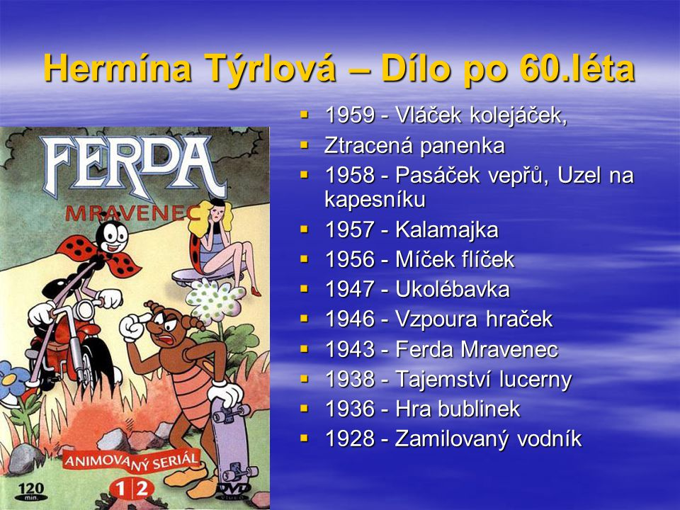 Hermína Týrlová – Dílo po 60.léta