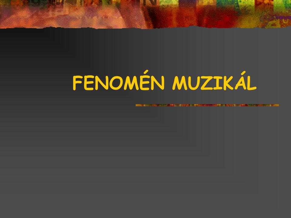 FENOMÉN MUZIKÁL