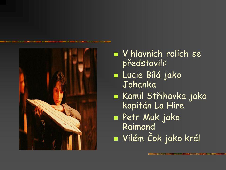 V hlavních rolích se představili: