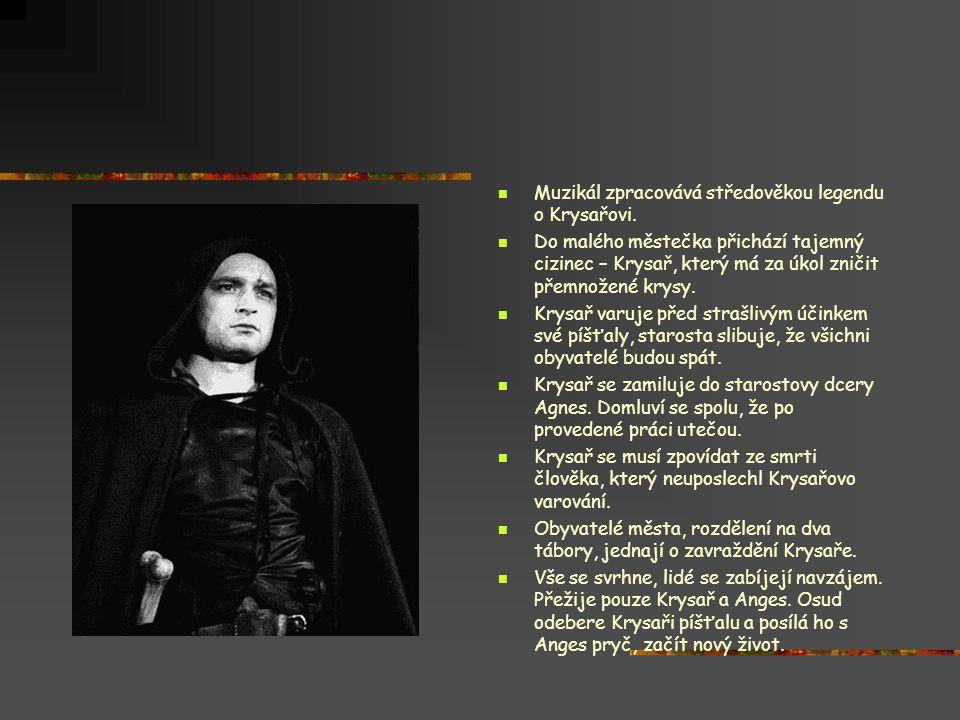 Muzikál zpracovává středověkou legendu o Krysařovi.