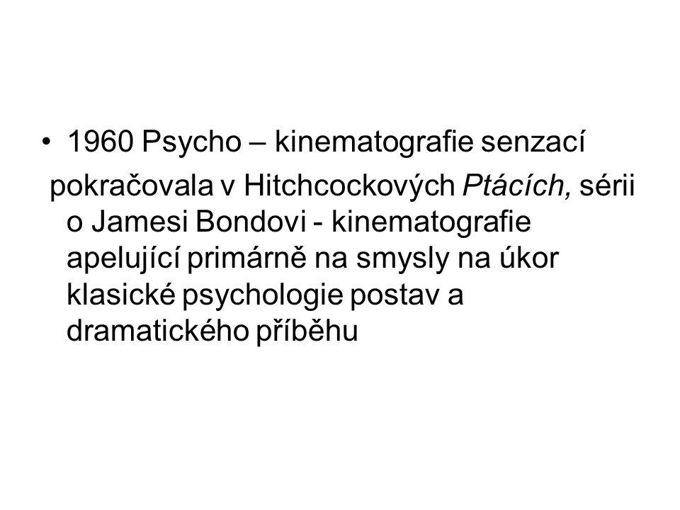 1960 Psycho – kinematografie senzací