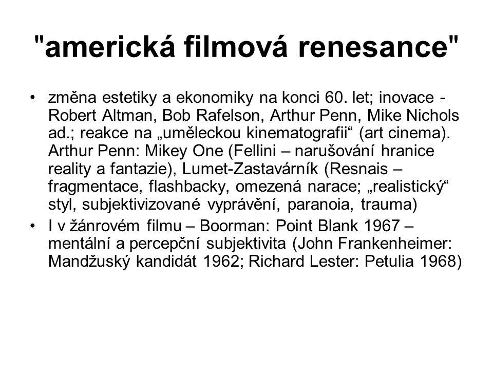 americká filmová renesance