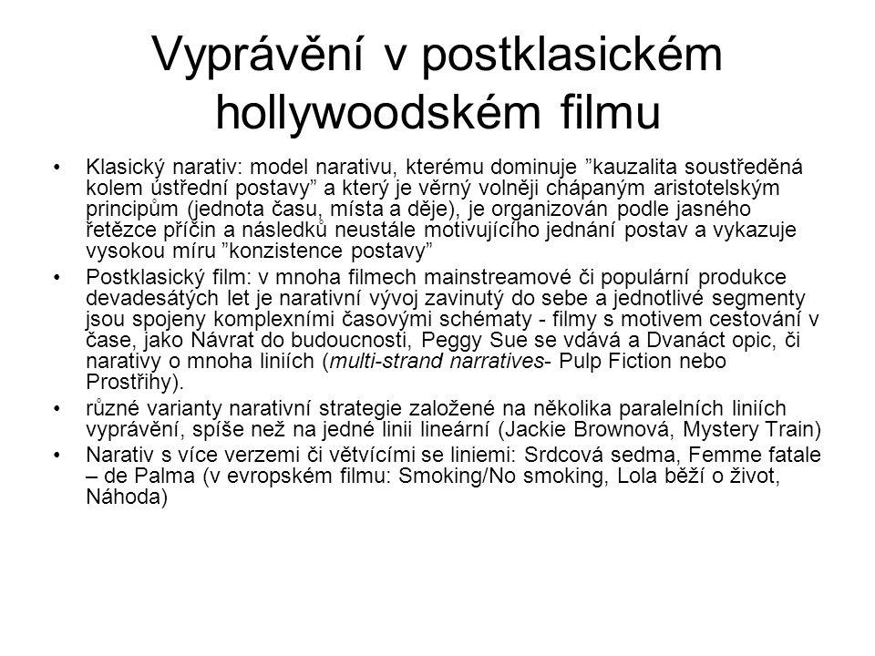 Vyprávění v postklasickém hollywoodském filmu