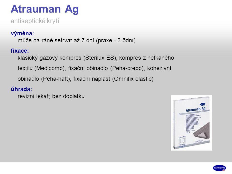 Atrauman Ag antiseptické krytí