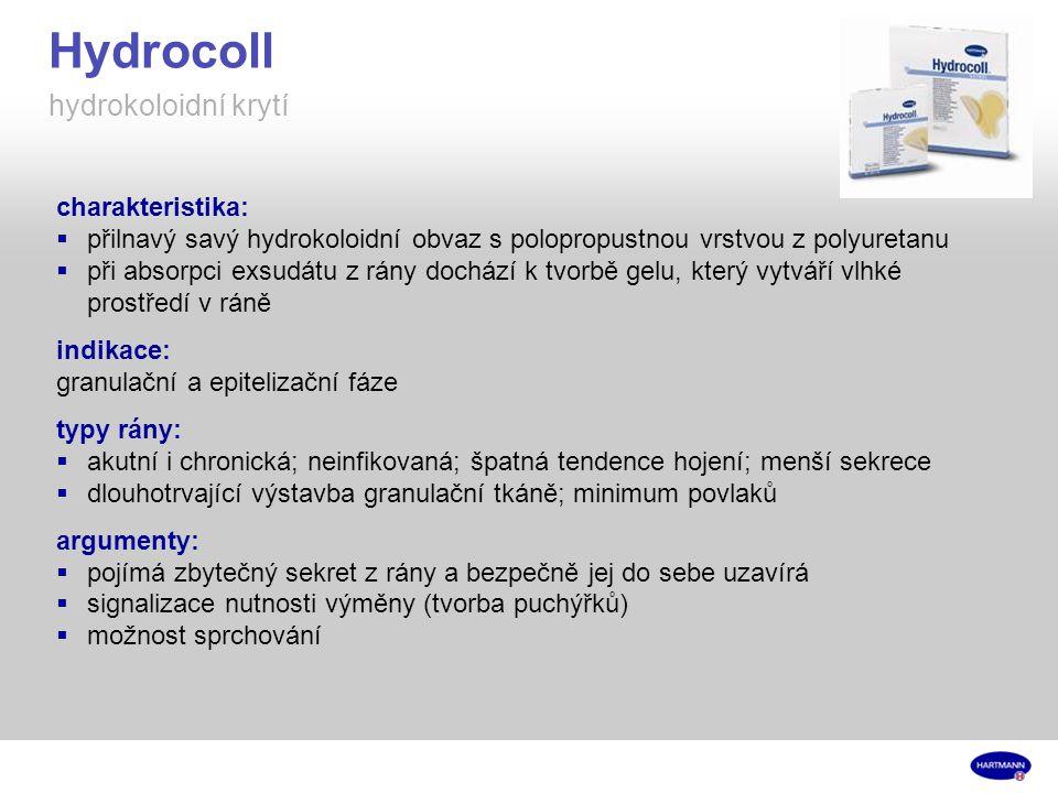 Hydrocoll hydrokoloidní krytí