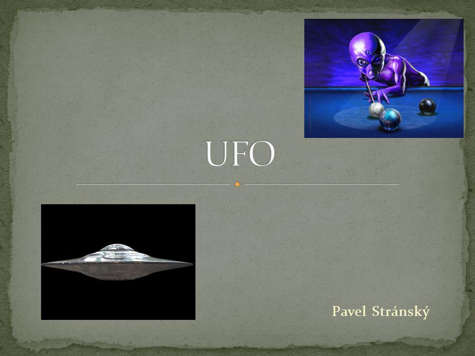 UFO Pavel Stránský