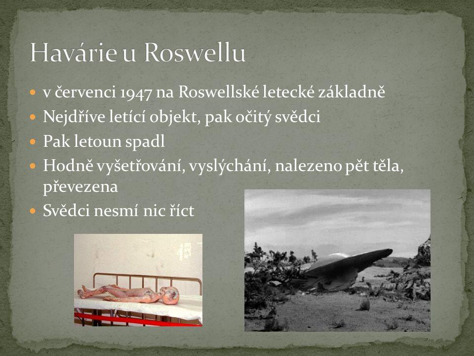 Havárie u Roswellu v červenci 1947 na Roswellské letecké základně